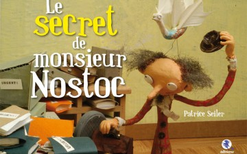 Le Secret de Monsieur Nostoc couverture